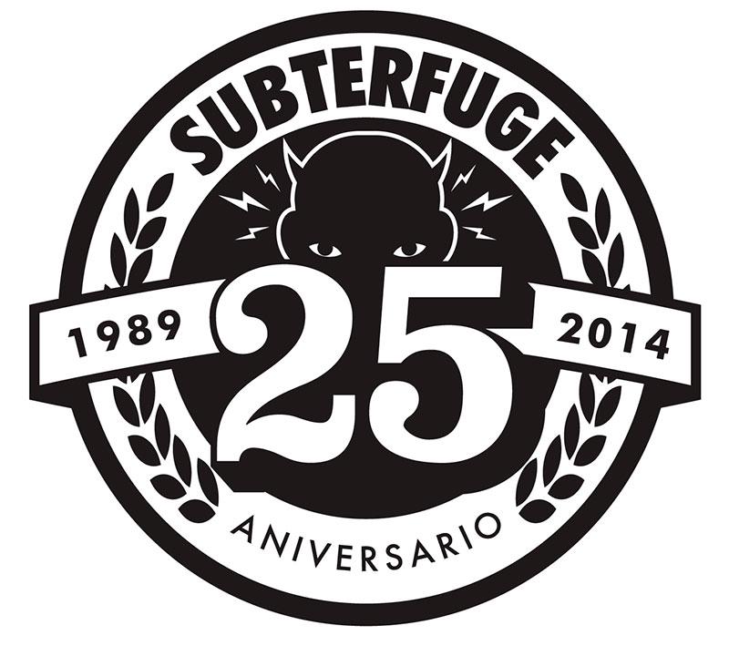 25 aniversario del sello Subterfuge
