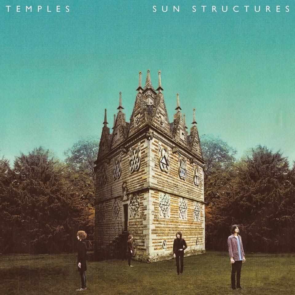 """Portada del """"Sun Structures"""" de Temples"""