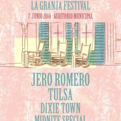 Jero Romero y Tulsa encabezan el La Granja Festival 2014