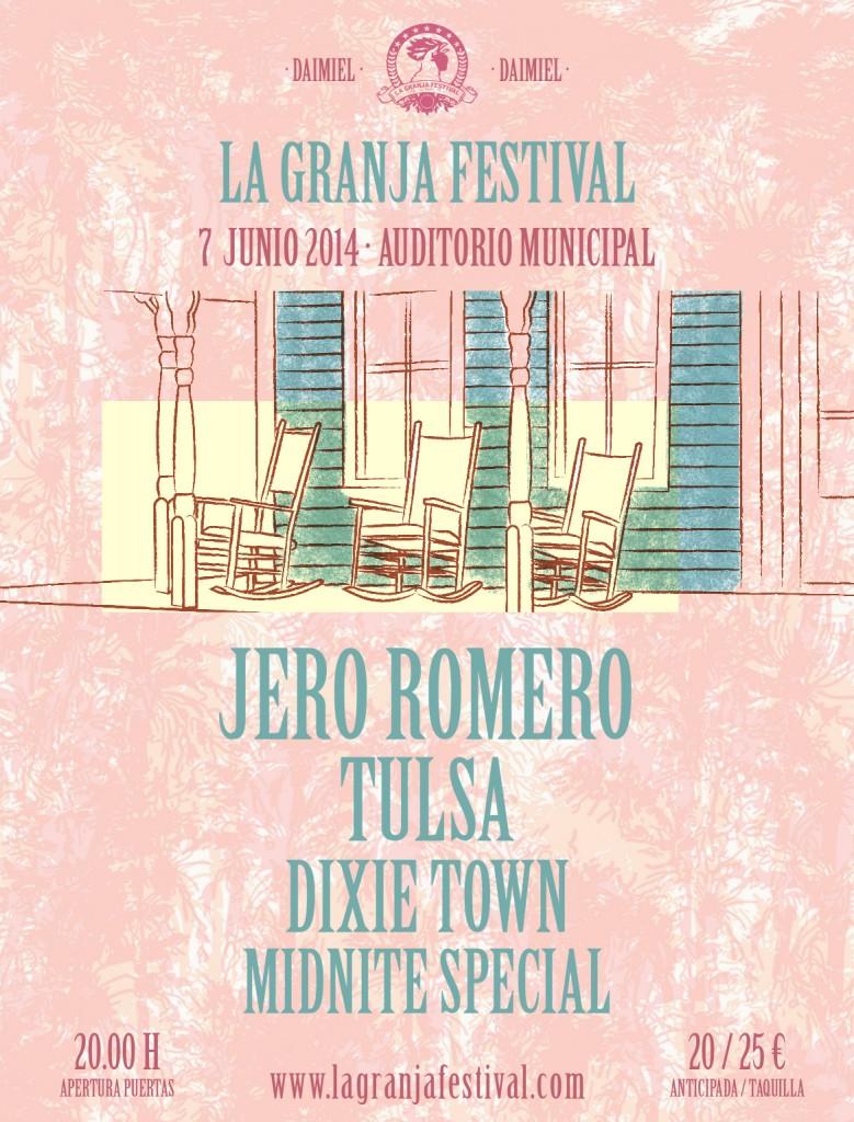 Cartel provisional del La Granja Festival 2014