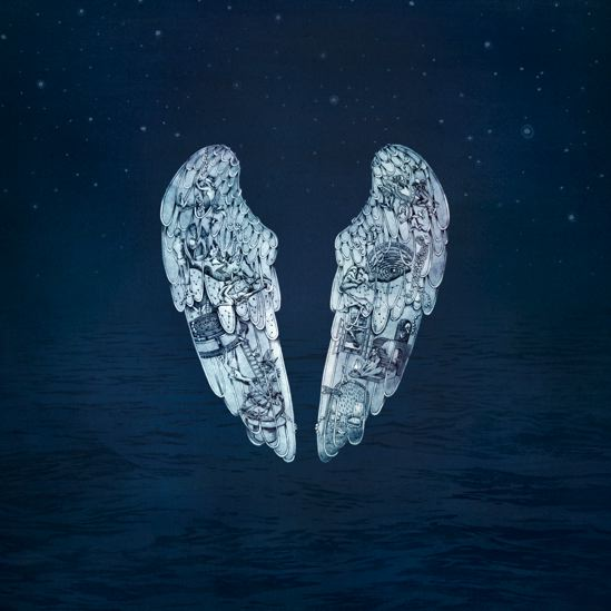 "Portada del ""Ghost Stories"" de Coldplay"