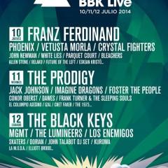 El Bilbao BBK Live 2014 va perfilando su distribución por días