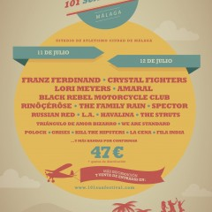 Black Rebel Motorcycle Club, Spector y The Struts al 101 Sun Festival
