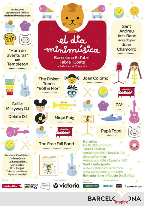 Cartel de El Día Minimúsica