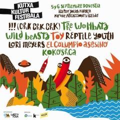 !!! (Chk, Chk, Chk) y Wild Beasts se suman al Kutxa Kultur Festibala