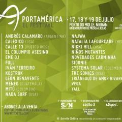 Nuevas confirmaciones para el Festival PortAmérica 2014