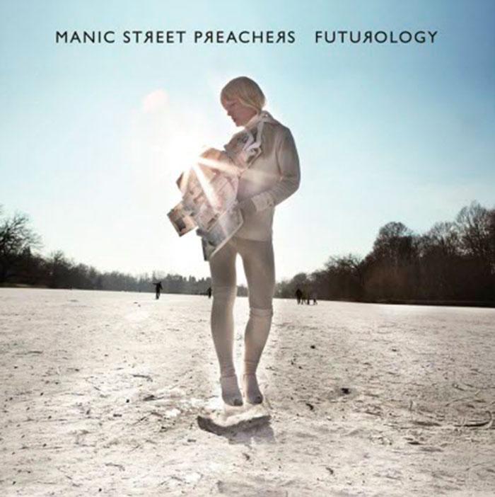 "Portada de ""Futurology"" de Manic Street Preachers"