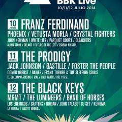 Altas y Bajas en el Bilbao BBK Live 2014