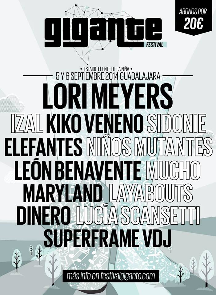 Cartel del Gigante Festival 2014