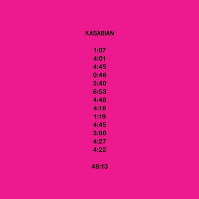 "Portada de ""48:13"" de Kasabian"
