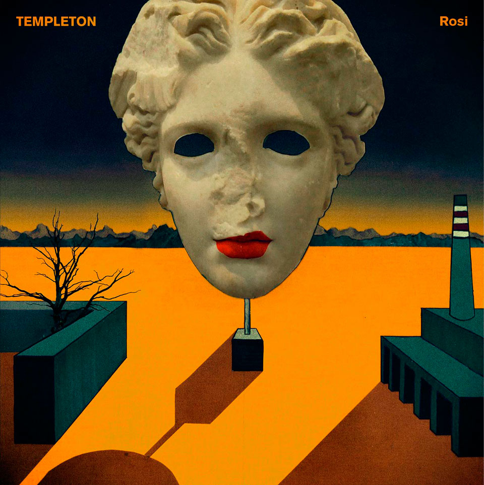 "Portada de ""Rosi"", nuevo disco de Templeton"