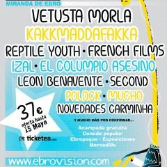 Segunda tanda para el Ebrovisión 2014